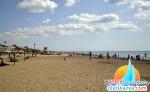 Пляж на базе отдыха Прибой