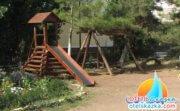 Детская площадка горка качели