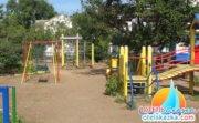 Детская площадка лесенка